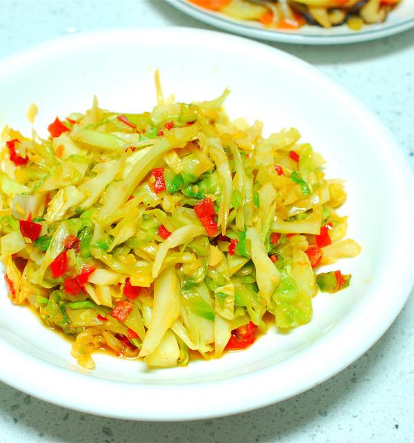 剁椒洋白菜成品图