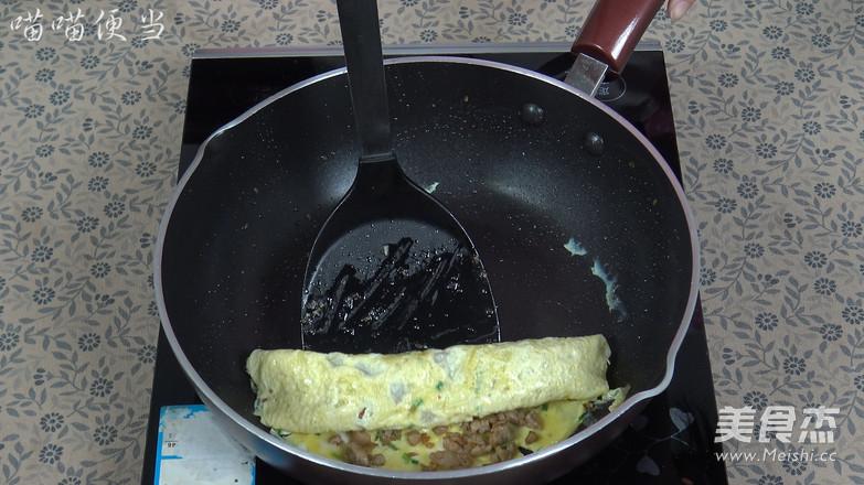 肉末鸡蛋卷的制作方法
