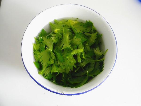 凉拌芹菜叶的做法大全
