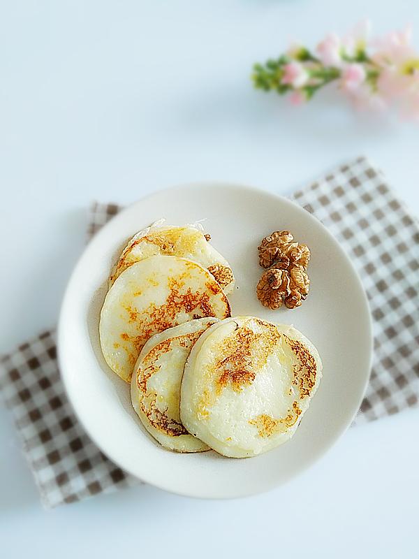 酸奶饼成品图