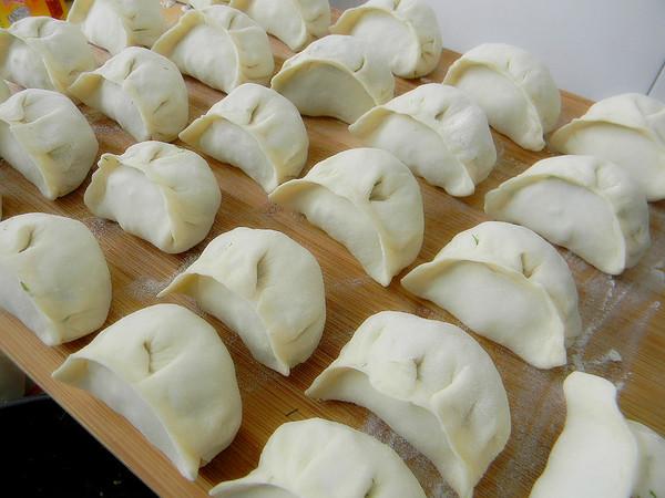 茴香鸡蛋饺子怎么煮