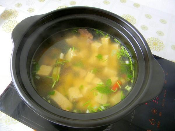 牛肉豆腐汤怎么吃