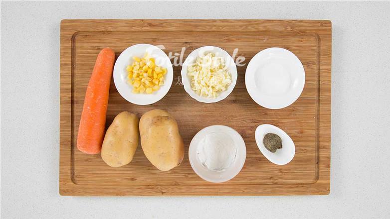 玉米土豆丸的做法大全