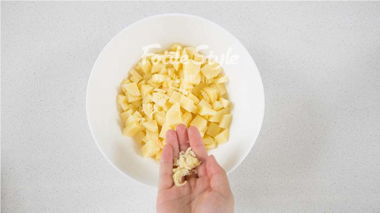 玉米土豆丸的家常做法