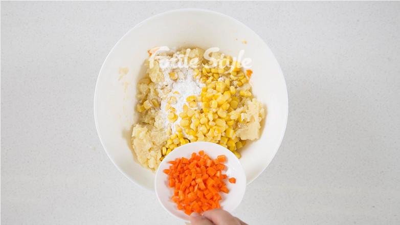 玉米土豆丸怎么炒