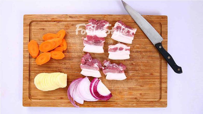 土豆烤五花肉的做法图解
