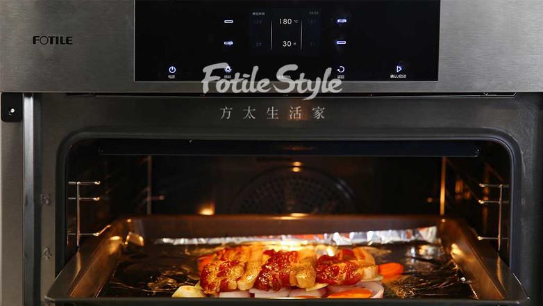 土豆烤五花肉怎么煮