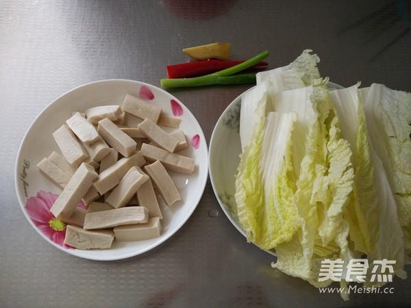 娃娃菜炒豆腐的做法大全