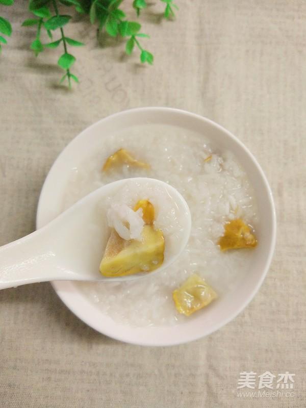 板栗大米粥成品图