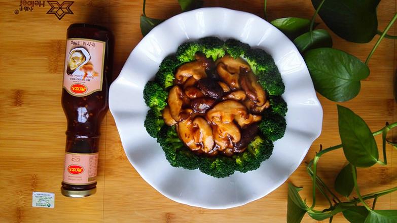 蚝油香菇成品图