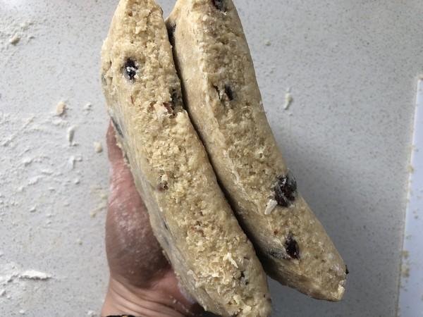减脂小点-燕麦麸干果能量司康(神手法酵母版)怎么煸