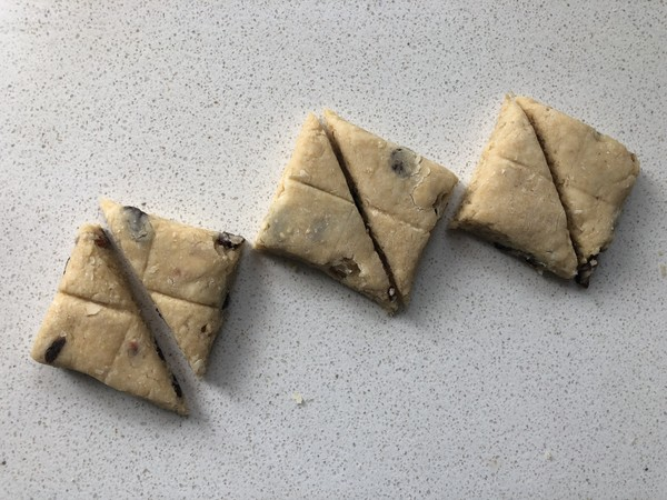 减脂小点-燕麦麸干果能量司康(神手法酵母版)怎样做