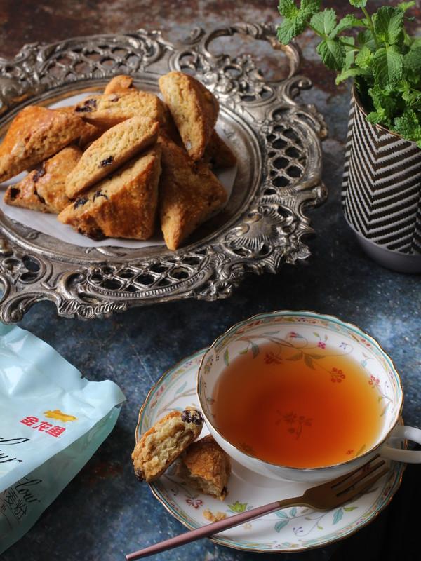 减脂小点-燕麦麸干果能量司康(神手法酵母版)成品图