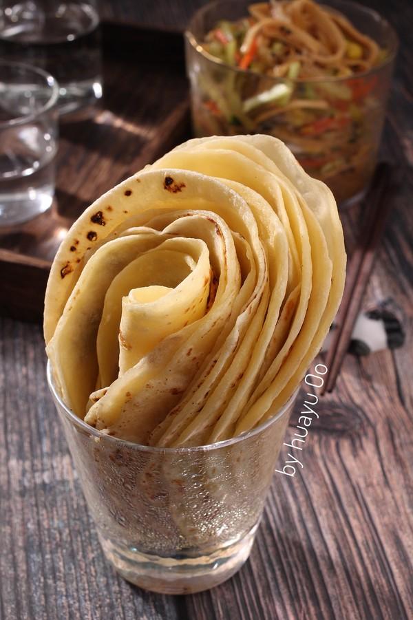 河南烙馍卷大拌菜成品图