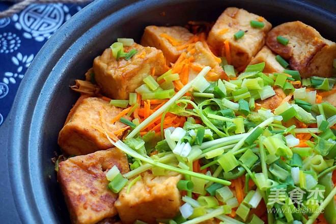 腐竹豆腐煲成品图