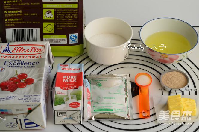 奶油蜜红豆吐司的做法大全
