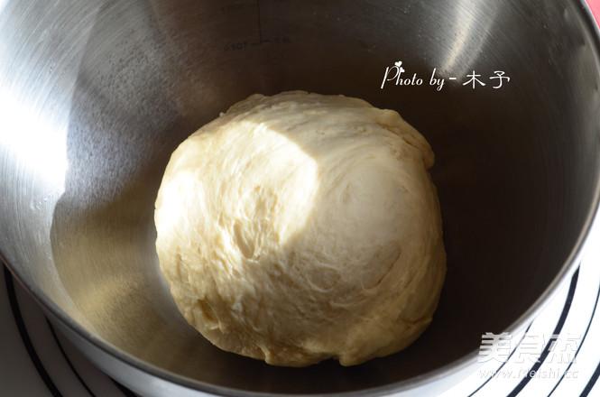 奶油蜜红豆吐司的家常做法