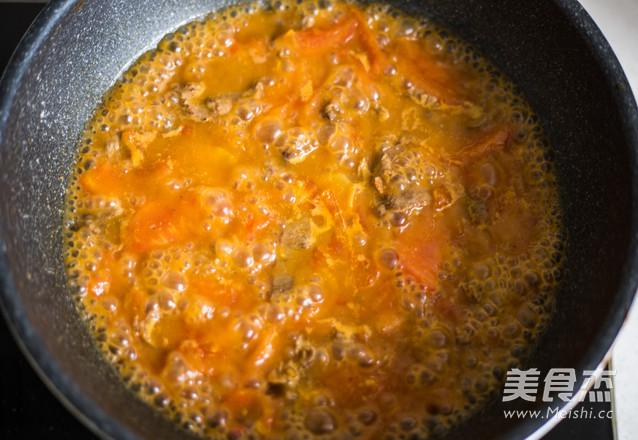 快手番茄牛肉米粉怎么煮