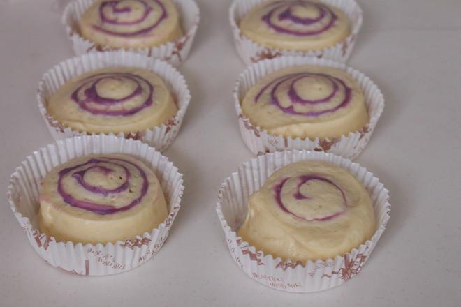 香芋紫薯面包卷#早餐#怎样做