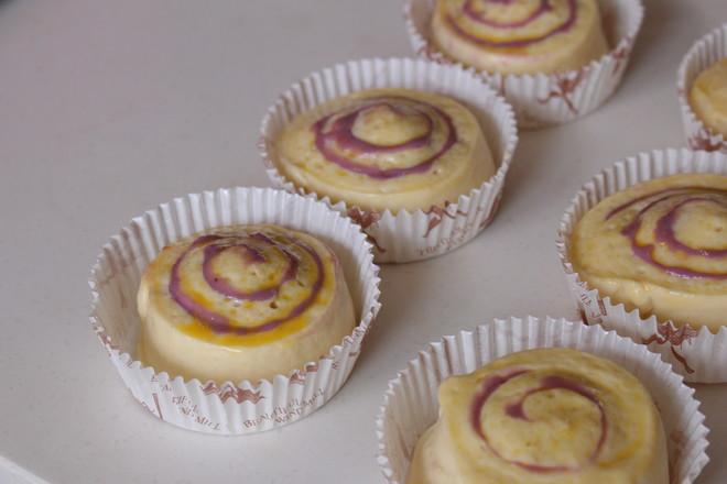 香芋紫薯面包卷#早餐#怎样炒