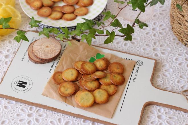 酥脆圆饼成品图