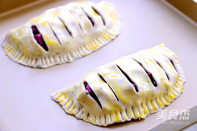 紫薯派怎么吃