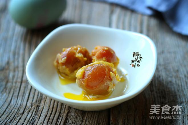 蛋黄炒南瓜的做法图解