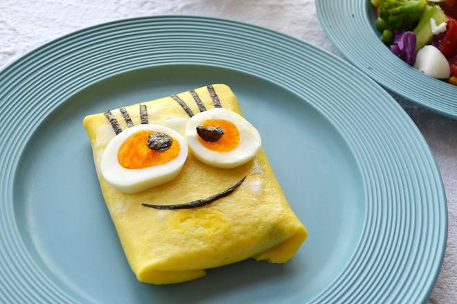 蛋包饭成品图