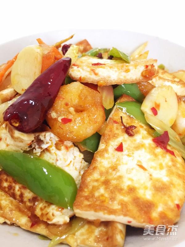 干锅豆腐成品图