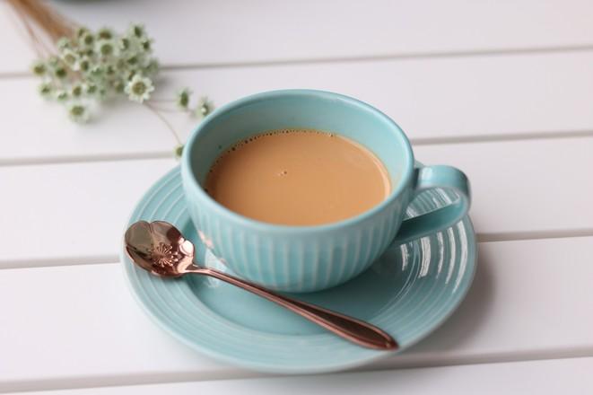 港式丝袜奶茶成品图