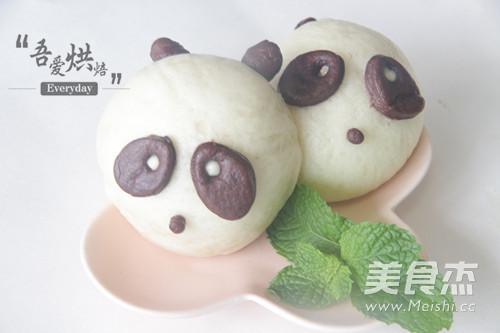 快来笑我家熊猫宝宝成品图