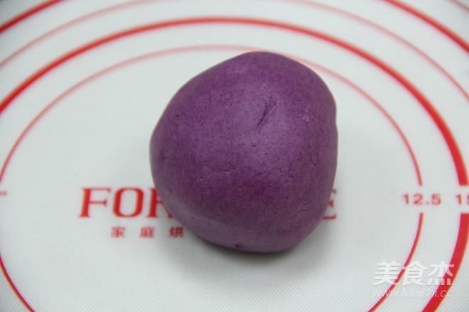 层次分明,酥得掉渣——紫薯酥的家常做法