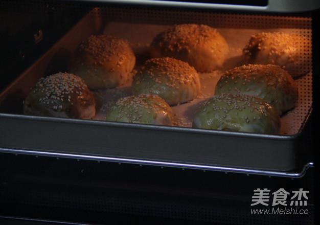 麻酱烧饼的制作
