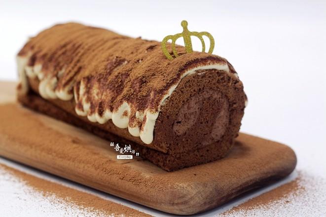 脏脏蛋糕卷成品图