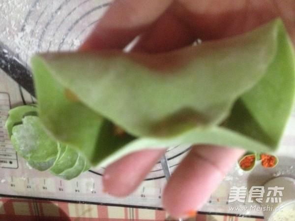 四喜饺子的包法怎么做
