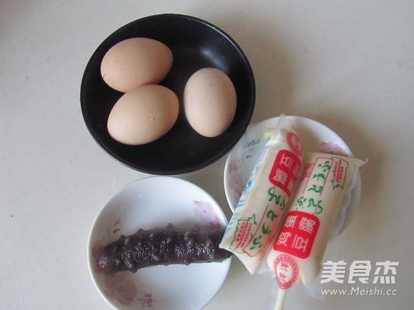 海参鸡蛋豆腐羹的做法大全