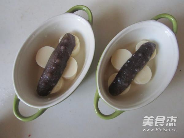 海参鸡蛋豆腐羹的做法图解