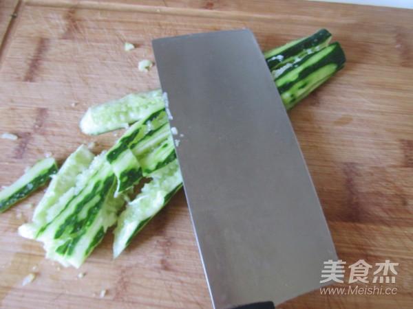 刀拍黄瓜的做法图解
