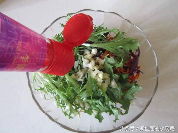 美食DIY——五彩素拌干丝