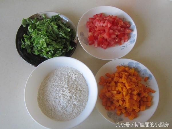 南瓜番茄疙瘩汤的做法大全