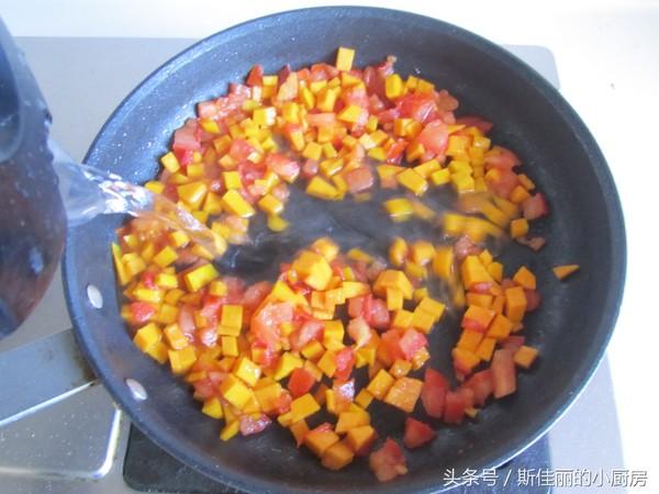 南瓜番茄疙瘩汤怎么炒