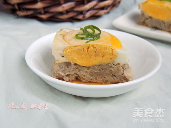 藕饼蒸蛋成品图