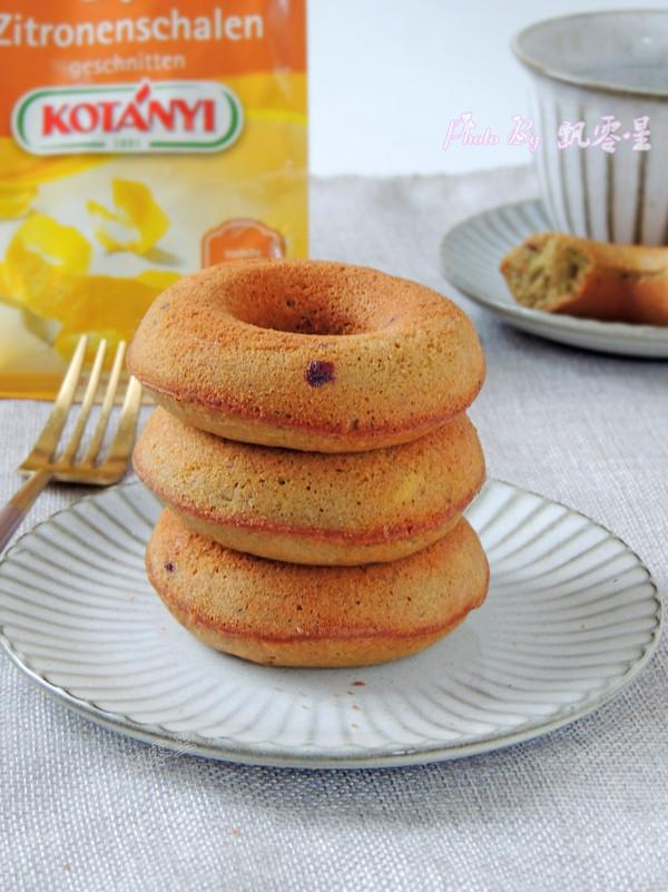 甜甜圈成品图