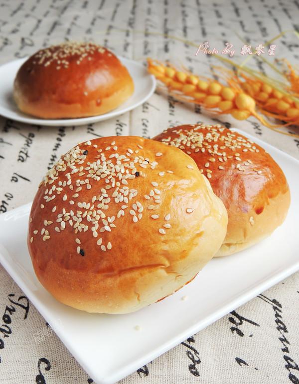蜜红豆面包成品图