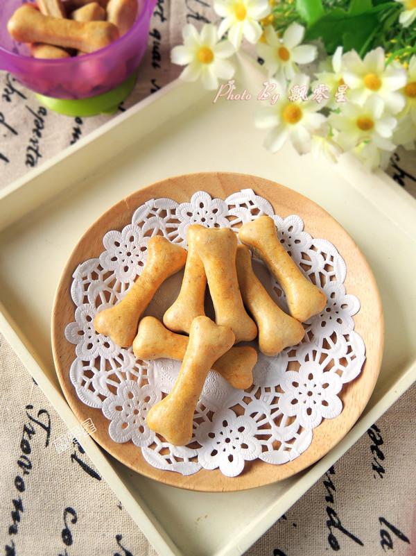 香蕉磨牙饼干成品图