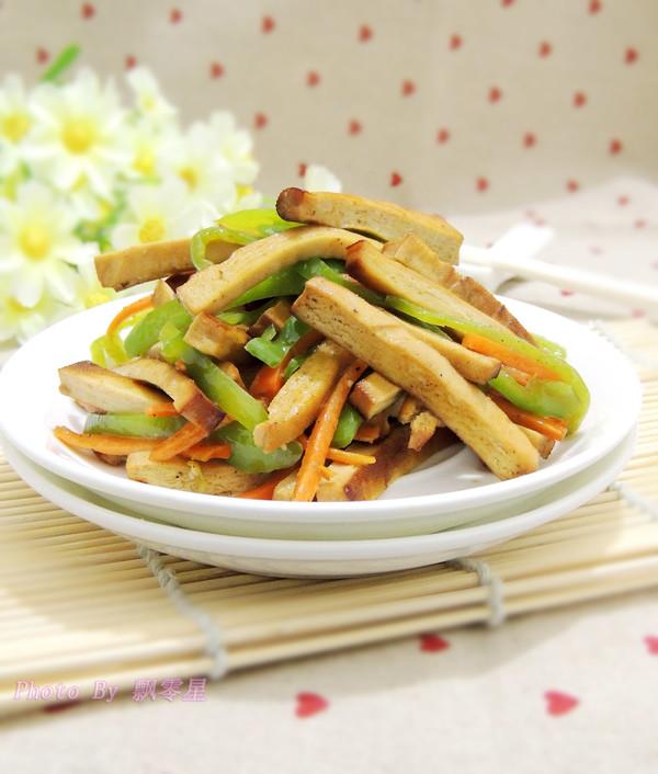 鱼香豆腐丝成品图