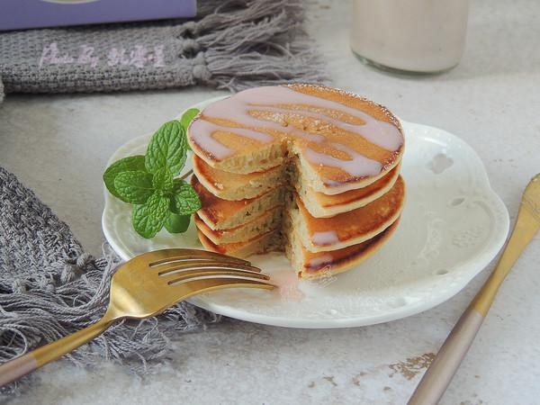 豆浆松饼成品图