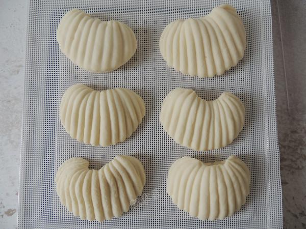 贝壳馒头的制作大全