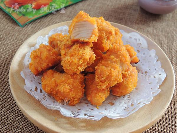 烤箱版鸡米花成品图