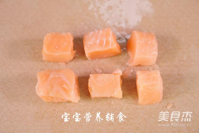 三文鱼南瓜米粉的做法图解